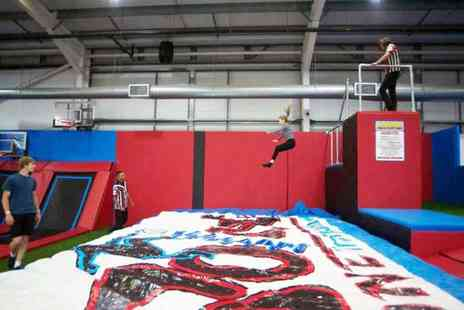 Boing Zone Trampoline Park - One hour trampolining session - Save 38%