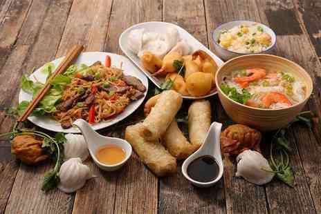 Shanghai City Restaurant - Five course Chinese dining for two - Save 46%