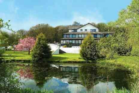 The Damson Dene Hotel - Double Room for Two with Breakfast, Prosecco, Leisure Access and Option for Dinner - Save 15%