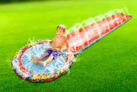 ViVo Mounts - Mega waterslide with 24 sprinklers - Save 70%