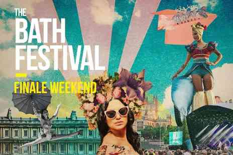 Orchard Live - Childs one day ticket to The Bath Festival Finale Weekend with Clean Bandit and Van Morrison - Save 49%