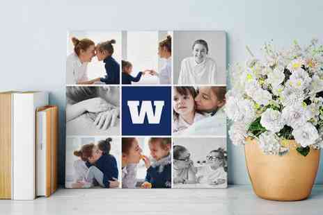 Photobook Worldwide - Personalised canvas air print - Save 80%
