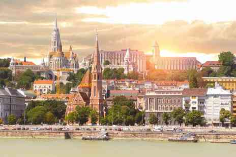 Weekender Breaks - Four nights Vienna and Budapest holiday with coach transfer and return flights - Save 29%