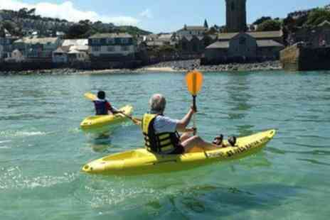 St Ives Rib Rides - One Hour Kayaking Session for One or Two - Save 34%