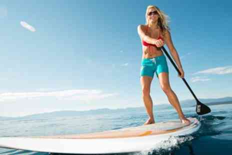 St Ives Rib Rides - One Hour Paddleboarding Session for One or Two People - Save 33%