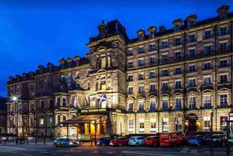 The Royal Station Hotel - Overnight central Newcastle break for two people with breakfast, three course dinner, bottle of wine and late check out - Save 55%