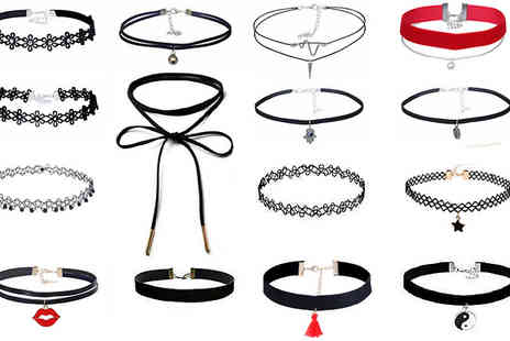 Marcus Emporium - 15 Piece Choker Sets - Save 75%