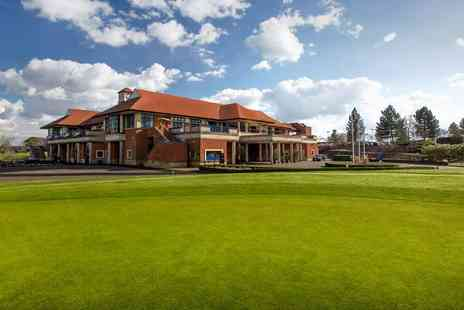The Oxfordshire Hotel Golf & Spa - Chiltern Hills spa day with massage, lunch & bubbly - Save 0%