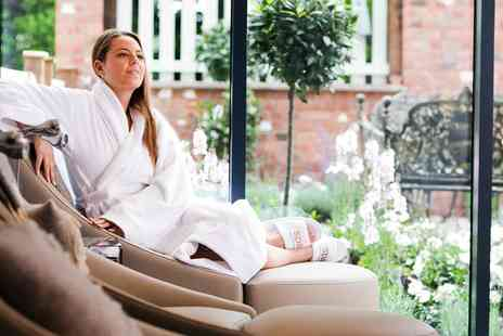 Macdonald Craxton Wood Spa - Spa day with massage, facial and cream tea - Save 0%