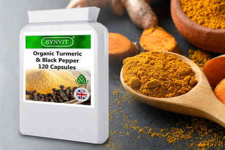 Dreamtastic - Four month supply of turmeric and black pepper tablets - Save 77%