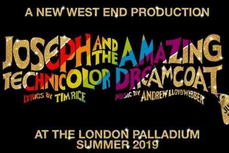 Encore Tickets - Joseph and The Amazing Technicolor Dreamcoat in London - Save 0%