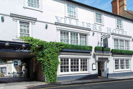 Villiers Hotel - Two Nights Break with Dinner for Two - Save 0%
