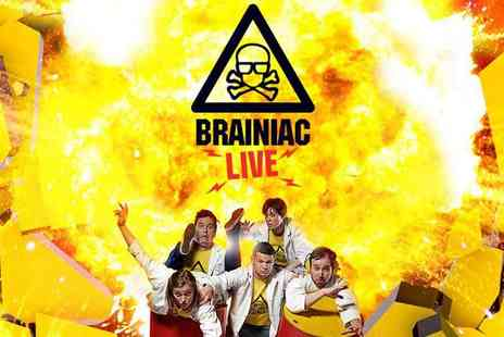 Encore Tickets - Early Bird Tickets, Brainiac Live at the Garrick Theatre - Save 18%
