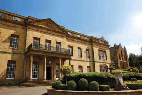 The Shrigley Hall Hotel - Overnight stay for two people in a standard room with breakfast, three course dinner, glass of Prosecco and a spa treatment - Save 35%