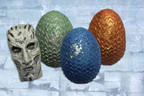 Bathtime Boutique - Dragon egg bath bomb gift set - Save 55%