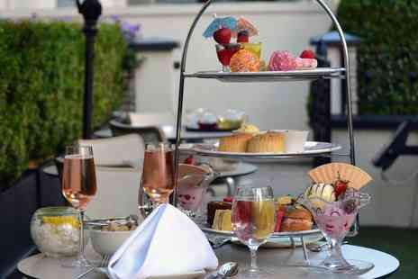 Park Grand Lancaster Gate - Ice cream afternoon tea for two people with a bottle of bubbly to share - Save 52%