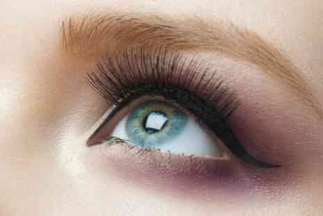 Harborne Infinite Glamour - Eyelash Extensions with Optional Brow Threading, Brow Tinting or Both - Save 46%