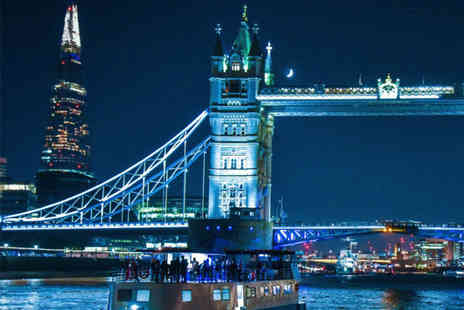 London Party Boats - Four hour party boat cruise, party snack box and Tiger Tiger night club entry for one person - Save 41%