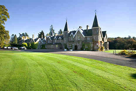 Ballathie House Hotel - Overnight stay for two people with breakfast and a bottle of wine to share - Save 56%