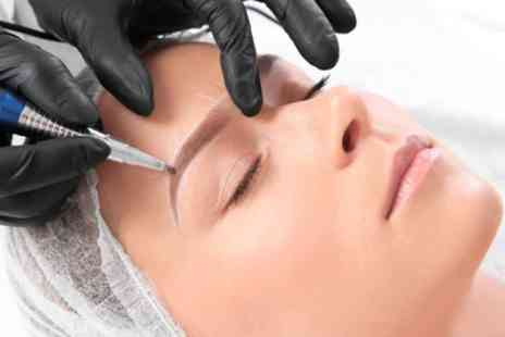 Modern Flair - Eyebrow Microblading Treatment - Save 75%