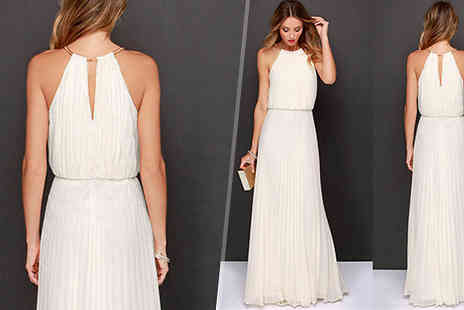 Aha Trading - Elegant Maxi Dress Choose from 3 Colours - Save 52%
