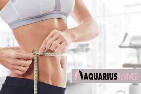 Aquarius Revived - Ten PowerPlate Sessions and Body Wrap - Save 74%