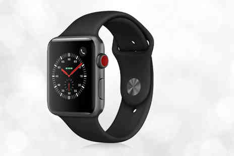 Ugoagogo - Refurbished 16GB Apple Watch S3 or Apple Watch with a spare strap choose from three colours - Save 0%