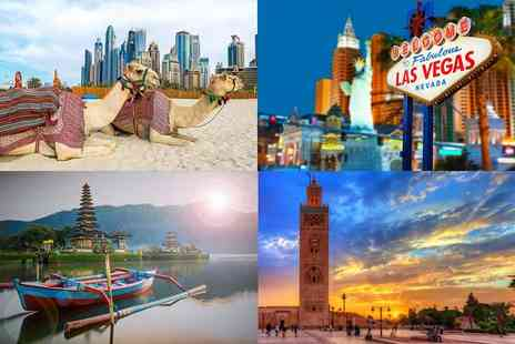 Weekender Breaks - Spectacular mystery getaway with flights holidays include New York, Dubai, Marrakech and more - Save 0%