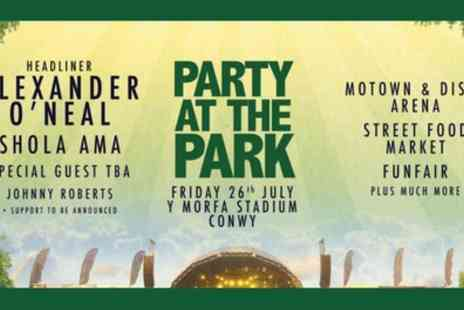 Party At The Park - One ticket on 26th July - Save 9%