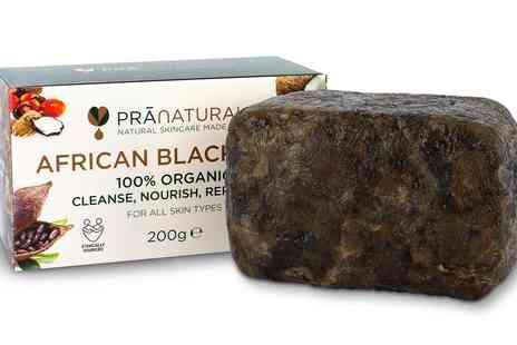 Groupon Goods Global GmbH - Pra Naturals 100% Organic Raw African Black Soap - Save 0%