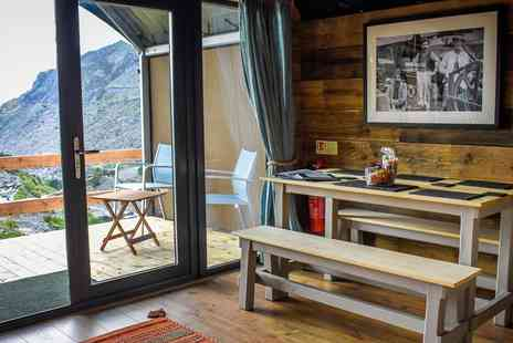 Quarry Tours - Two nights Slate Mountain Glamping for up to 4 people - Save 40%