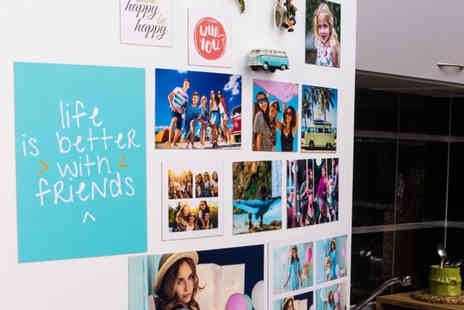 Colorland - Set or personalised photo magnets choose from Four options - Save 63%