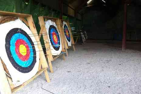 Mountain Monkeys - Two hour target sports session for two including archery and air rifle shooting - Save 62%