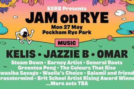 Jam On Rye Festival 2019 - One final release general admission ticket on 27 May - Save 30%