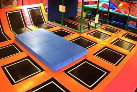Airobounce - Two Hour Trampoline Jumping Session for Up to Four - Save 67%