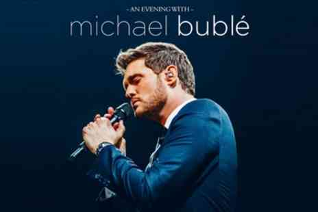 An Evening with Michael Buble - One seated ticket on 27th May in Manchester or 4th June in Leeds - Save 13%