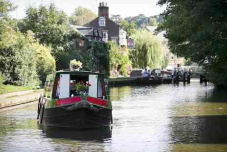 Norbury Wharf - One day narrow boat hire for up to 10 people on the Shropshire Union Canal - Save 42%