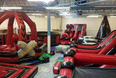 The Inflatable Arena - 90 Minute Inflatable Session for Up to Four Children or Adults - Save 13%