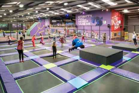 Air Unlimited - One Hour Trampoline Park Access for Up to Four - Save 33%