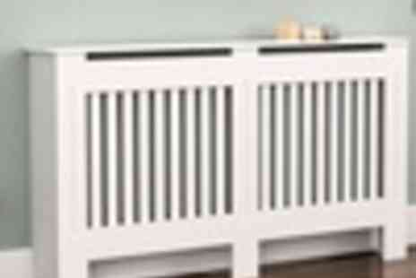 Groupon Goods Global GmbH - Radiator Cover in Choice of Size, Finish and Model - Save 0%