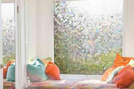 Groupon Goods Global GmbH - One, Two or Four Privacy Window Films - Save 0%