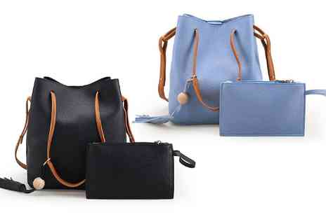 Groupon Goods Global GmbH - Boho Style Bag and Pouch Set - Save 0%