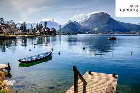 Black Bass Annecy - Five Star Brand New Lakeside Country Retreat with Stunning Views and Spa - Save 66%