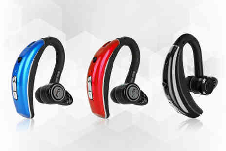 MBLogic - 180° adjustable Bluetooth headset choose from three colours - Save 0%