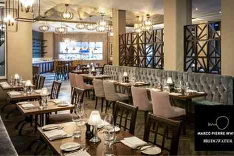 Marco Pierre White Steakhouse Bar & Grill - Two Course Dinner with Wine for Two or Four - Save 41%