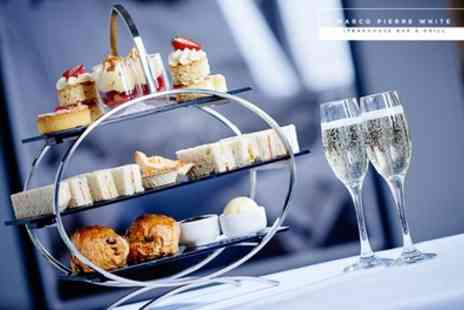 Marco Pierre White Steakhouse Bar & Grill - Afternoon Tea with Optional Prosecco for Two - Save 30%
