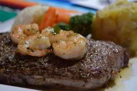 Arribas Restaurant - Surf Over Turf for Two or Four - Save 38%