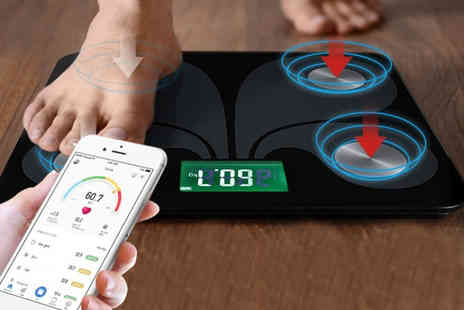 MBLogic - Smart Bluetooth body fat scale - Save 70%