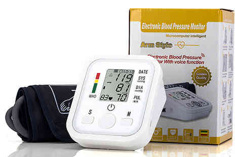 comxuk - Four in one Blood Pressure Monitor Plus Voice Function - Save 78%