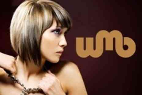WMB Hair - Half Head of Highlights With Cut and Blow Dry - Save 74%